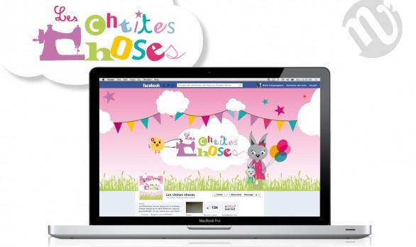 Logo et bannière de blog Les Chtites choses