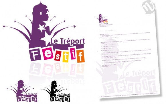 Logo Association Tréport Festif