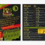Conception univers graphique pour création d'entreprise - PPS Pizzas